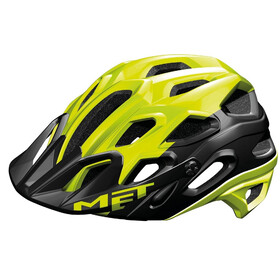 MET Lupo Bike Helmet yellow/black
